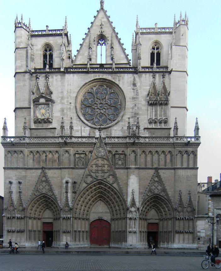 St Jean Cathedral, Lyon